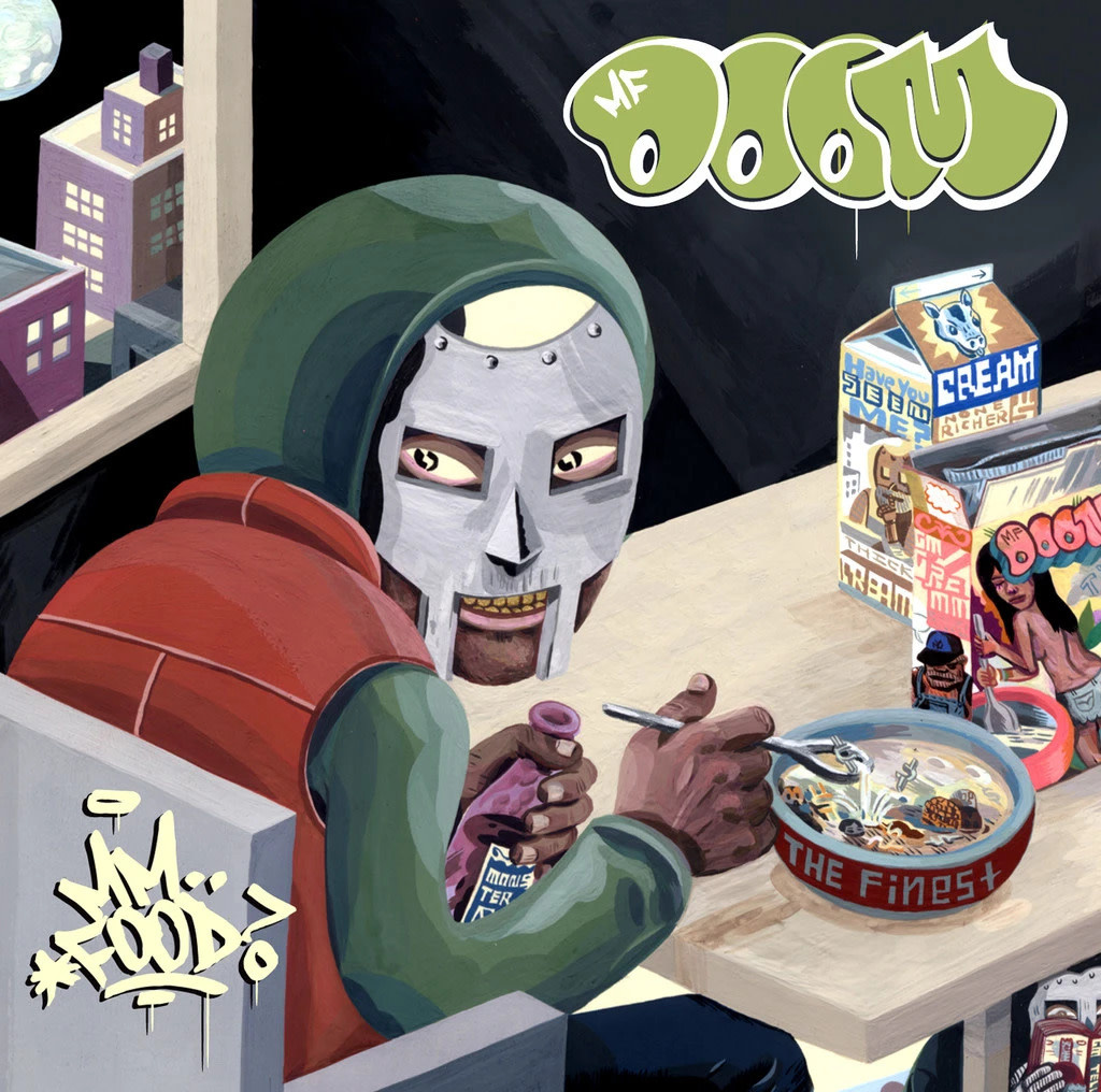 MF Doom • MM..Food (Réédition couleur limitée 2LP)-1