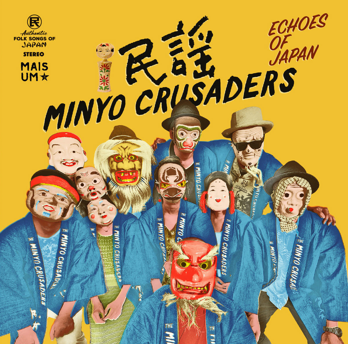 Minyo Crusaders • Echoes Of Japan-1