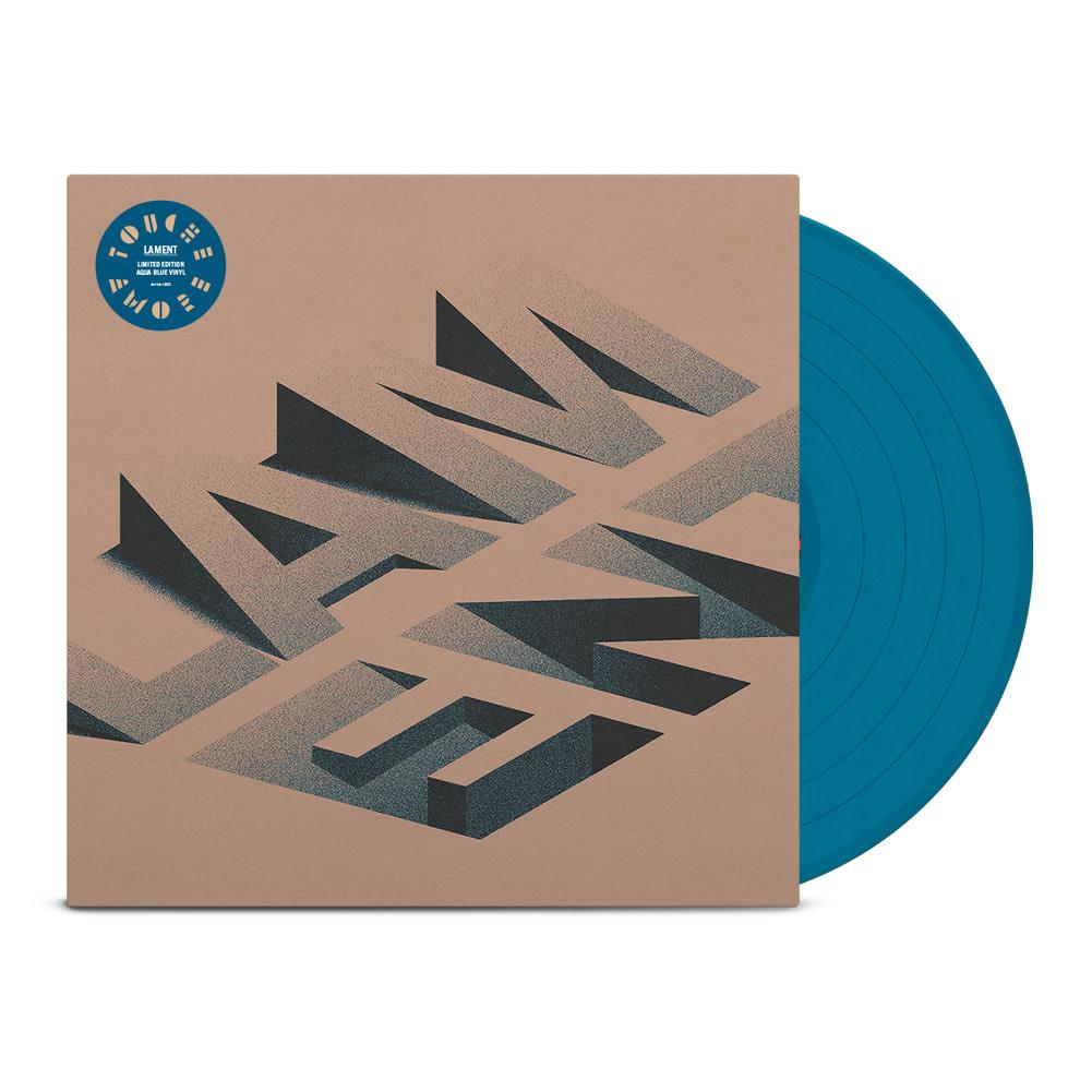 """Touché Amoré • Lament (Édition """"indie"""" bleue aqua)-2"""