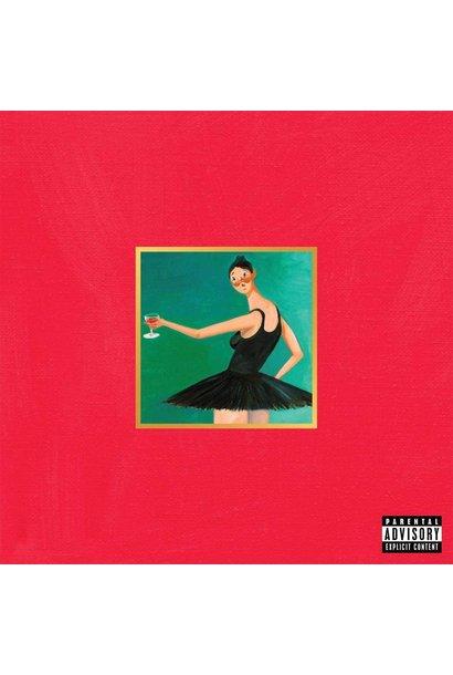 Kanye West • My Beautiful Dark Twisted Fantasy (3LP)