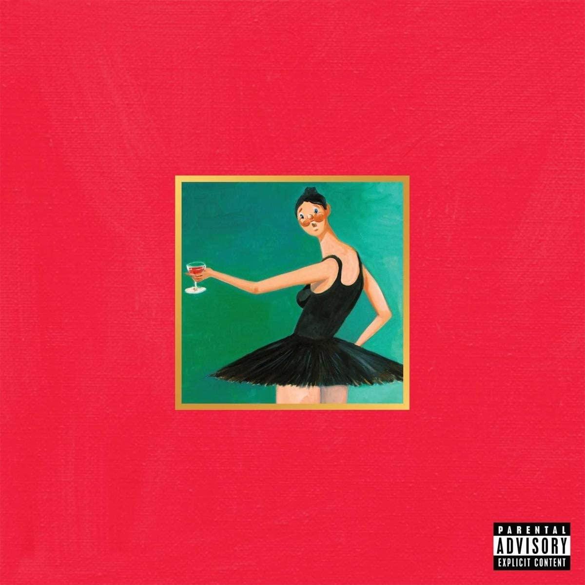 Kanye West - My Beautiful Dark Twisted Fantasy (3LP)-1