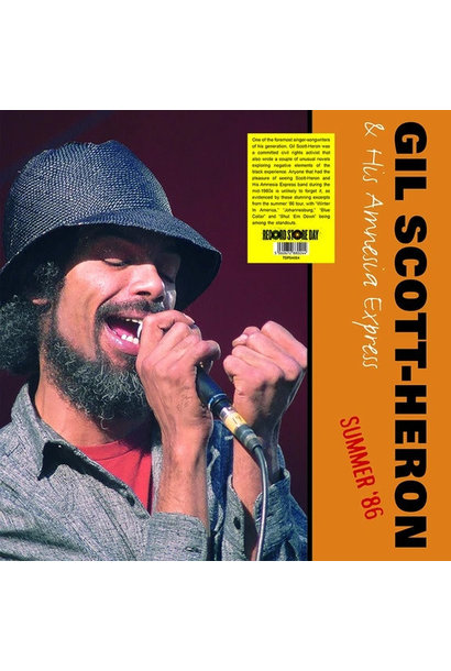 Gil Scott-Heron & His Amnesia Express • Summer '86 (RSD2020)