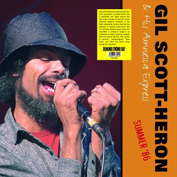 Gil Scott-Heron & His Amnesia Express • Summer '86 (RSD2020)-1
