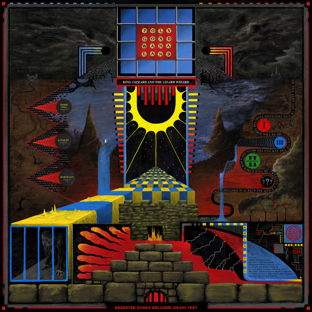 King Gizzard & the Lizard Wizard • Polygondwanaland-1