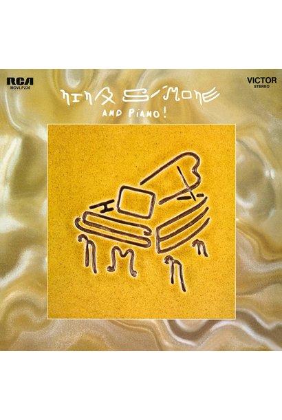 Nina Simone • Nina Simone and Piano! (Édition couleur limitée)