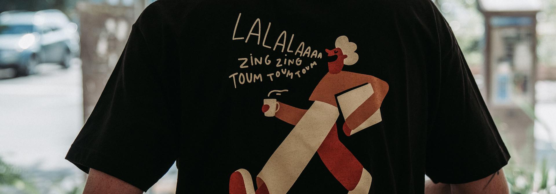 T-shirt SDL noir - par Cécile Gariépy