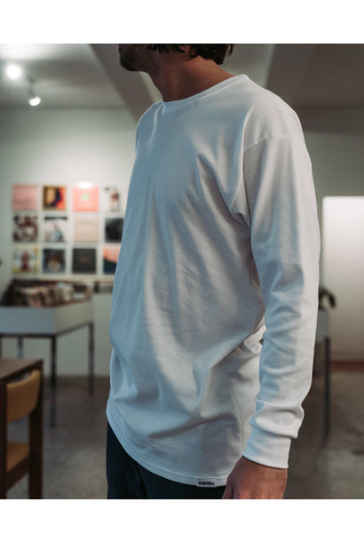 Chandail [blanc] à manche longue