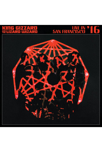 "King Gizzard & the Lizard Wizard • Live In San Francisco '16 (Édition ""Eco-Wax"" limitée)"