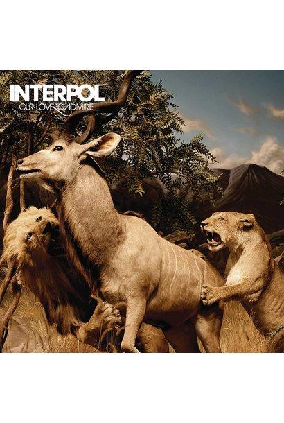 Interpol • Our Love to Admire (Édition couleur limitée)
