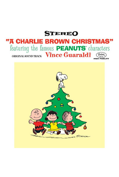 "The Vince Guaraldi Trio • A Charlie Brown Christmas (Édition limitée ""lenticulaire"")"