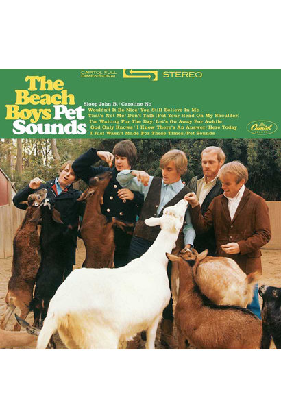 Beach Boys • Pet Sounds (180g, stereo)