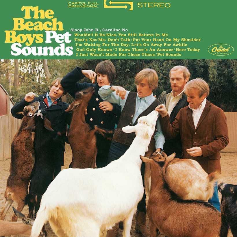 Beach Boys • Pet Sounds (180g, stereo)-1