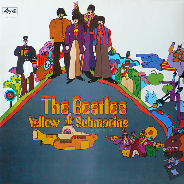 Beatles • Yellow Submarine (180g)-1
