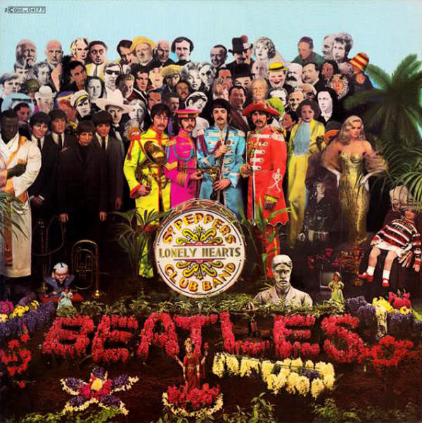 Beatles • Sgt Pepper's Lonely Hearts Club Band-1