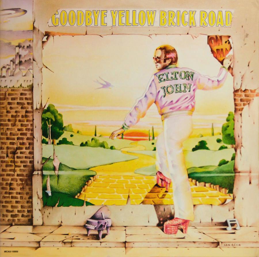 Elton John • Goodbye Yellow Brick Road (2LP)-1