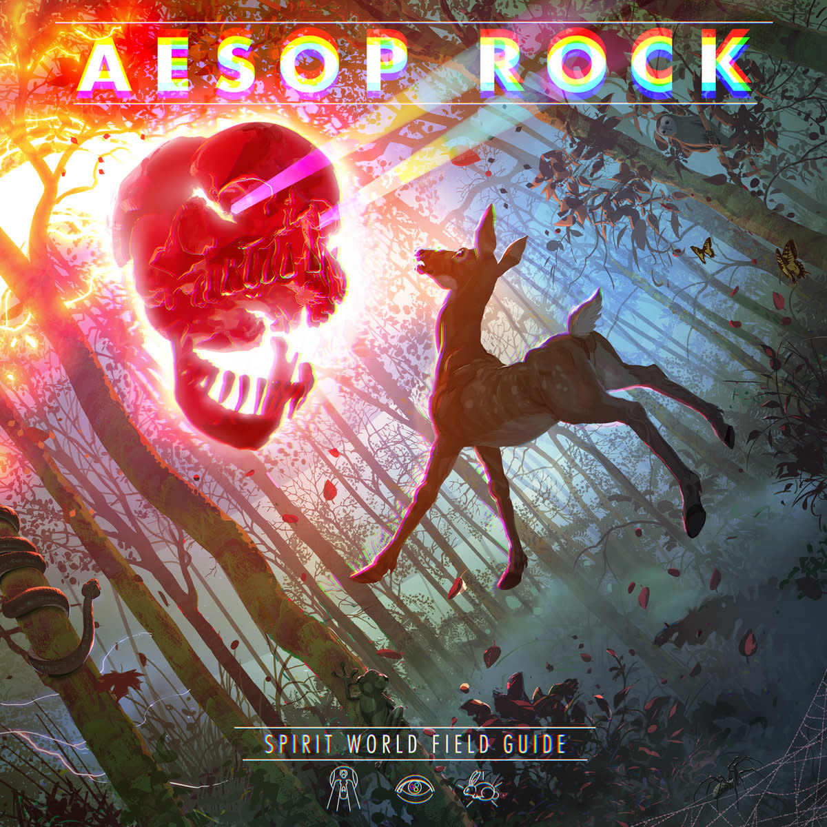 Aesop Rock • Spirit World Field Guide (2LP transparents)-1