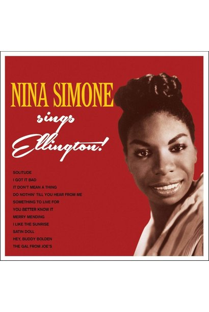 Nina Simone • Sings Ellington (Édition 180g couleur)