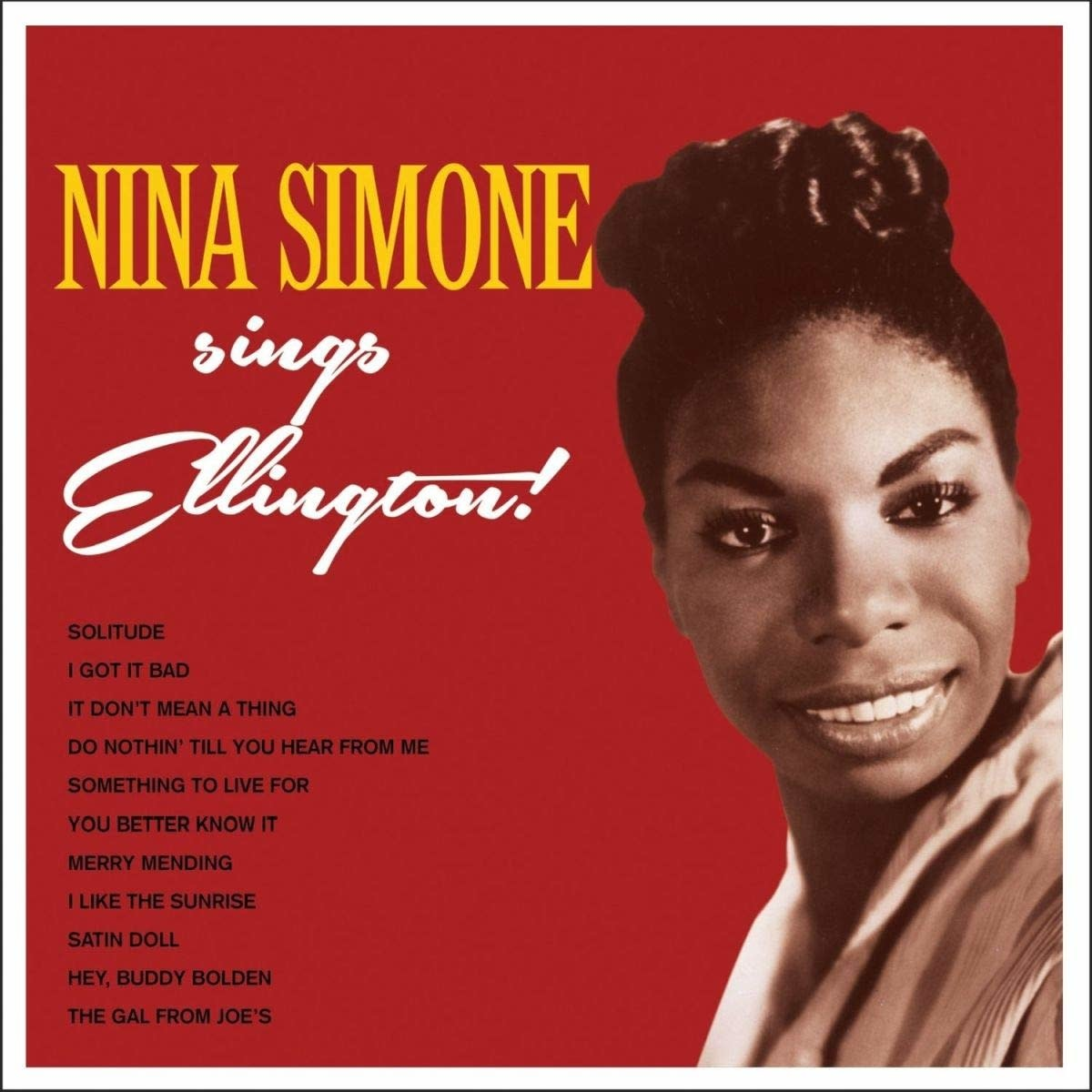 Nina Simone • Sings Ellington (Édition 180g couleur)-1