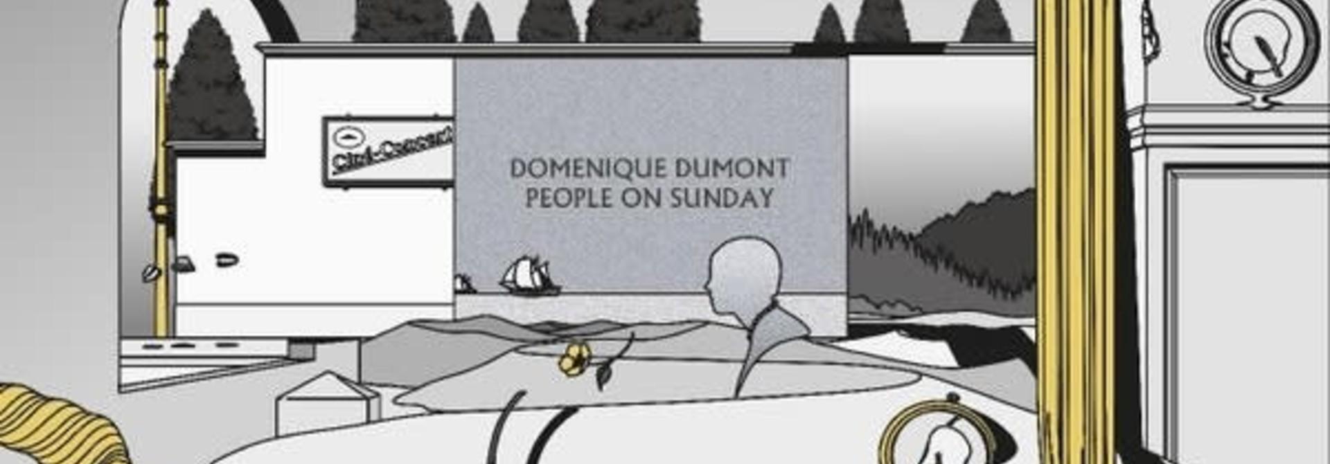 Domenique Dumont • People On Sunday (édition couleur)