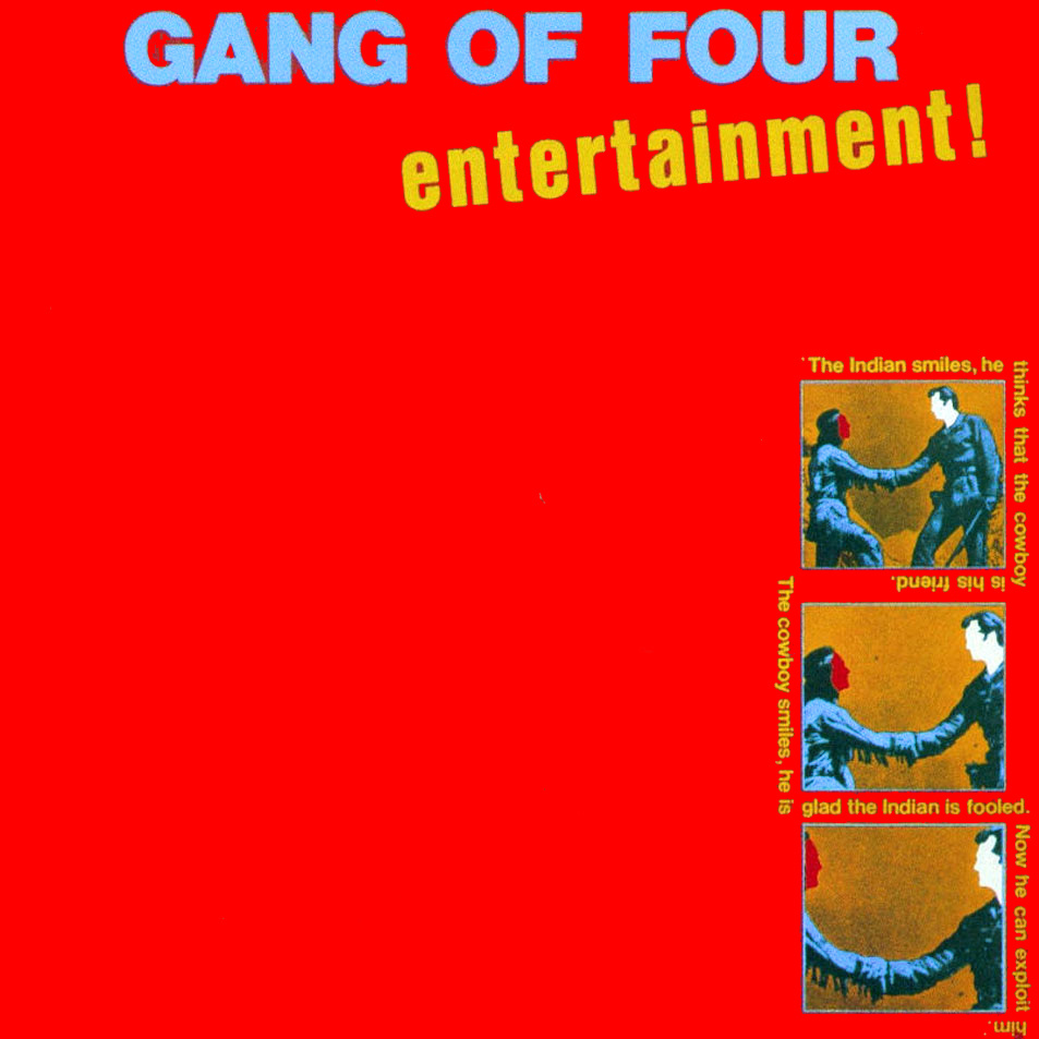 Gang Of Four • Entertainment!-1