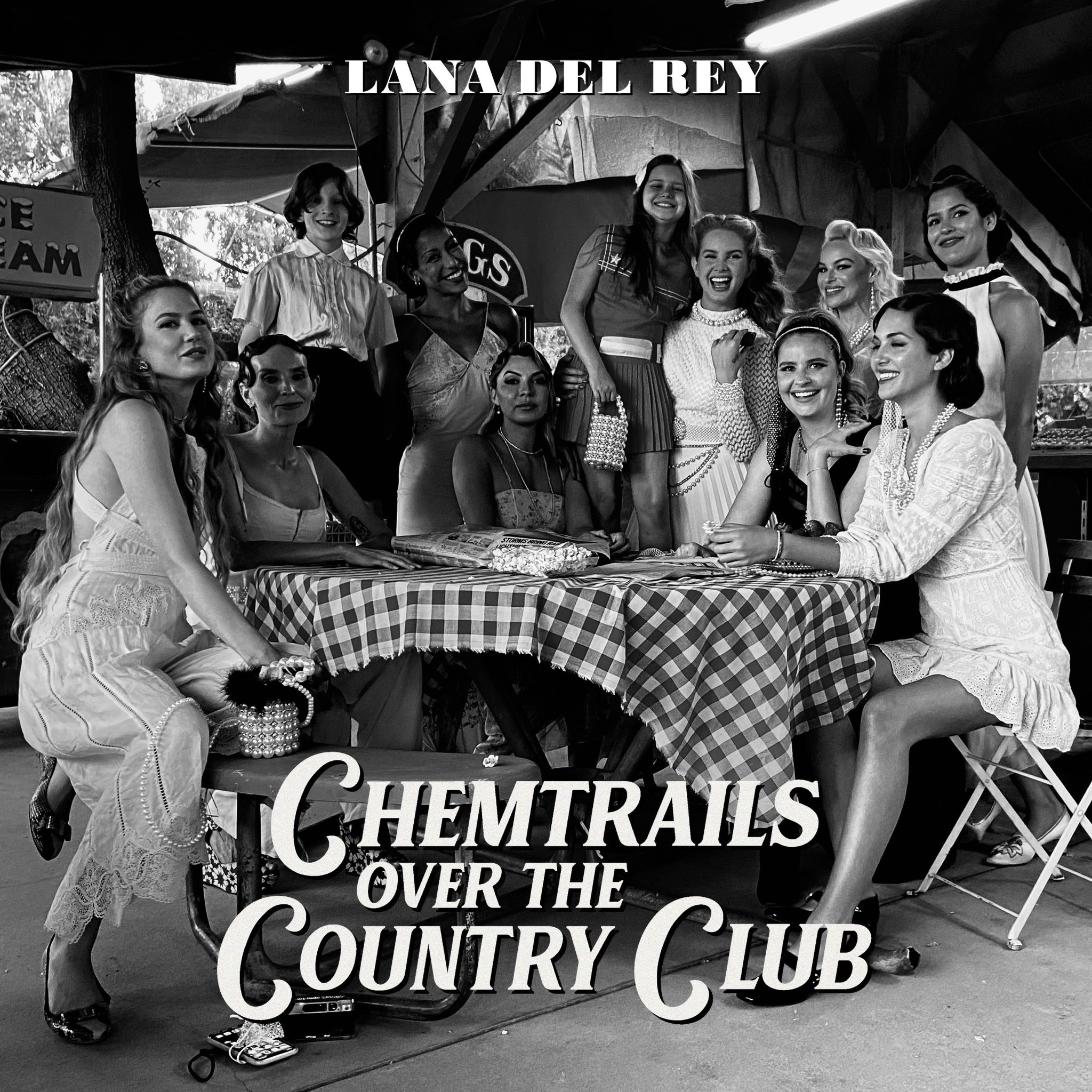 Lana Del Rey • Chemtrails Over The Country Club-1