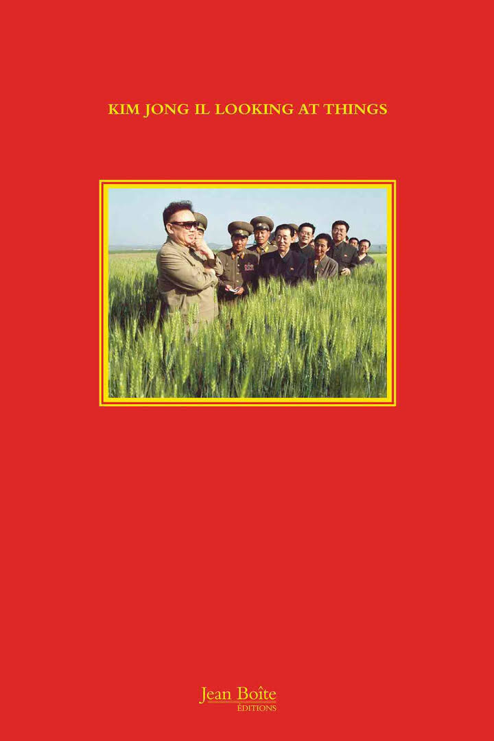 Kim Jong Il Looking At Things-1