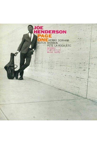 Joe Henderson • Page One