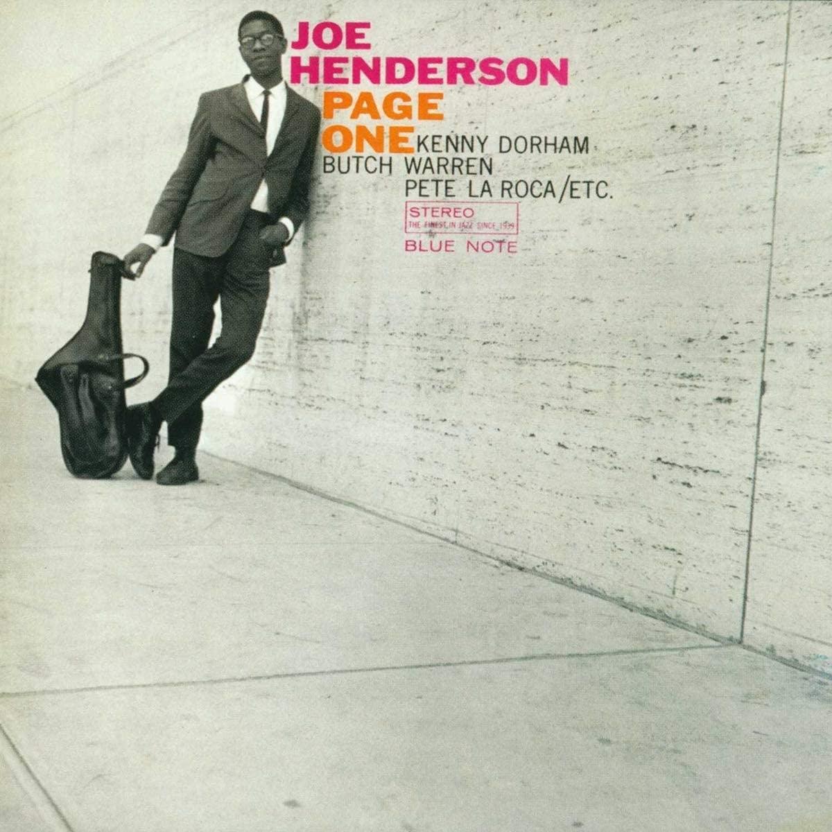 Joe Henderson • Page One-1