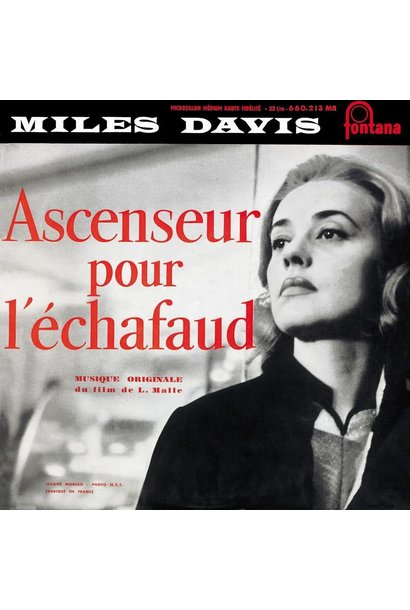 Miles Davis • Ascenseur pour l'échafaud (édition couleur 180g)