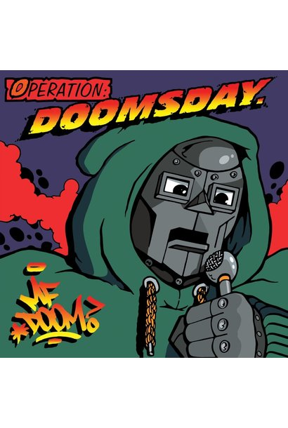 MF DOOM • Operation: Doomsday (couverture originale)