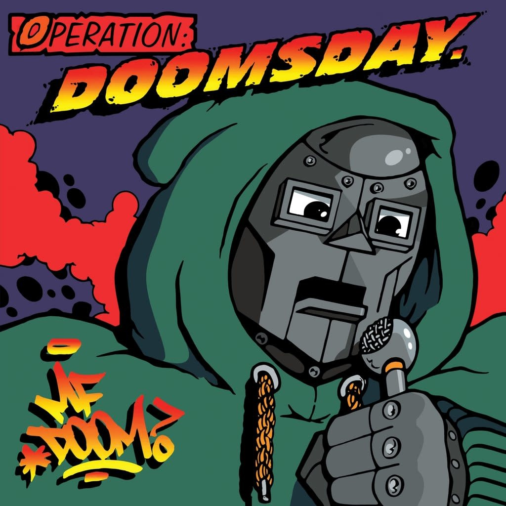 MF DOOM • Operation: Doomsday (couverture originale)-1