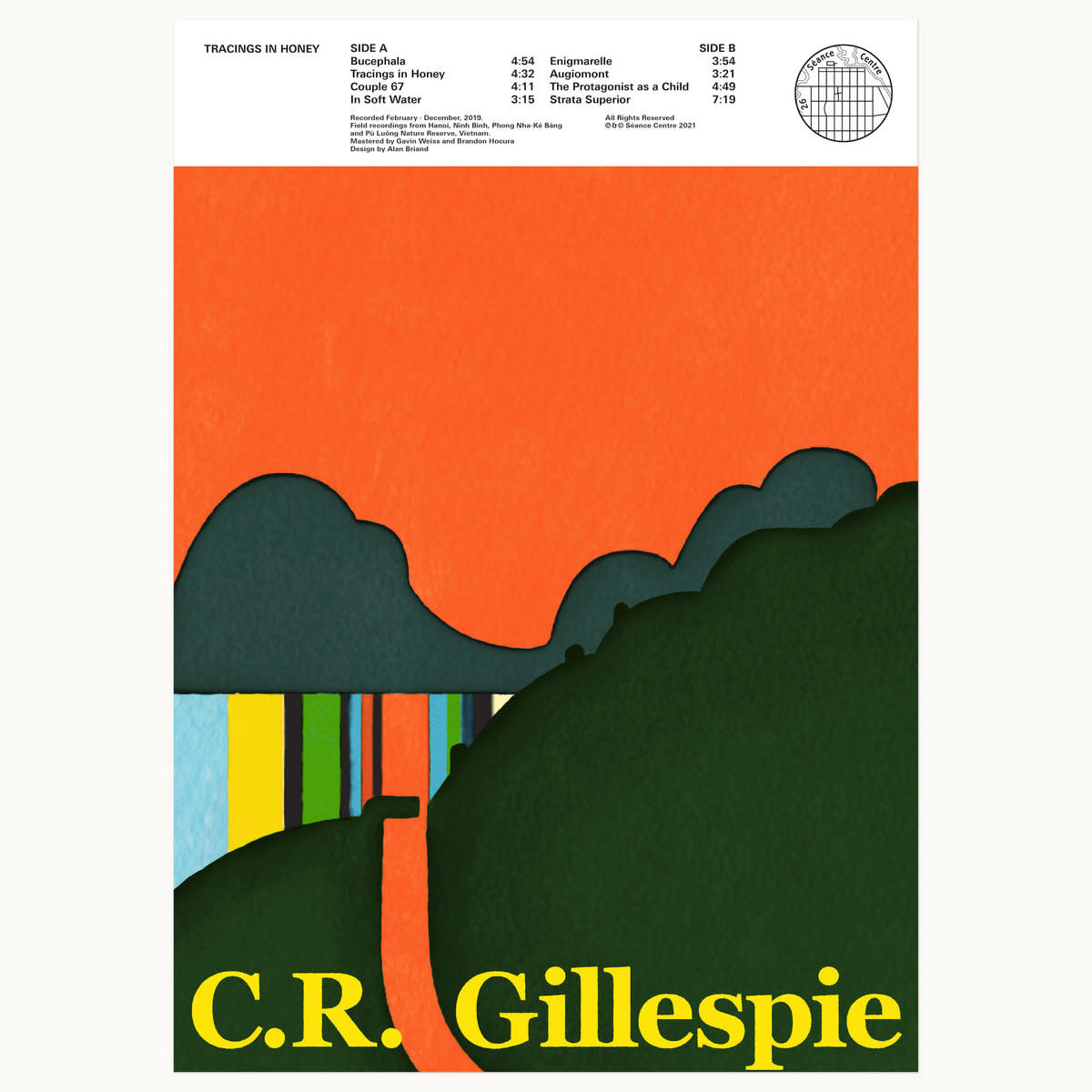 C.R. Gillepsie • Tracings In Honey (édition limitée)-1