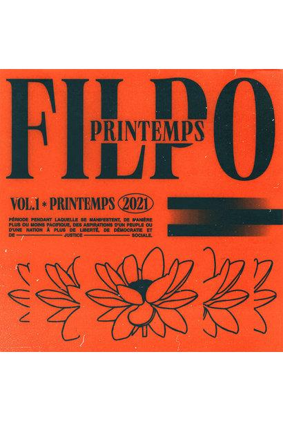 Filpo • Printemps (Édition couleur orange)