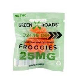 Green Roads 25 MG Froggies