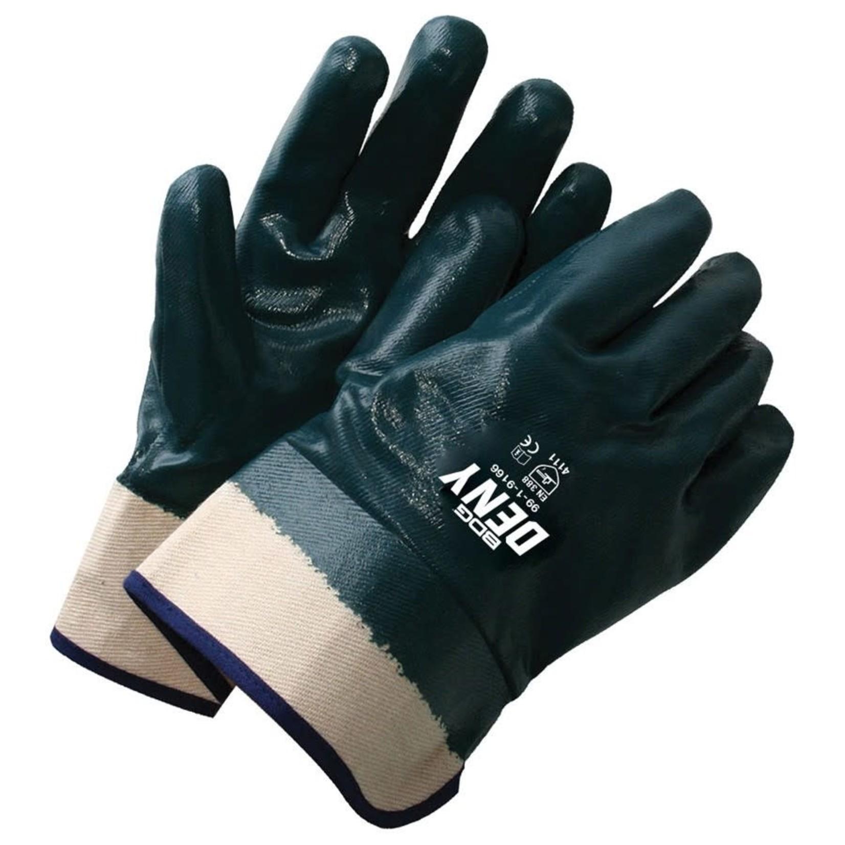 Bob dale gloves BDG Deny Nitrile Coated Safety Glove