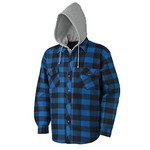 Pioneer Pioneer 415SS V3080393 Quilted Hooded Polar Fleece Shirt