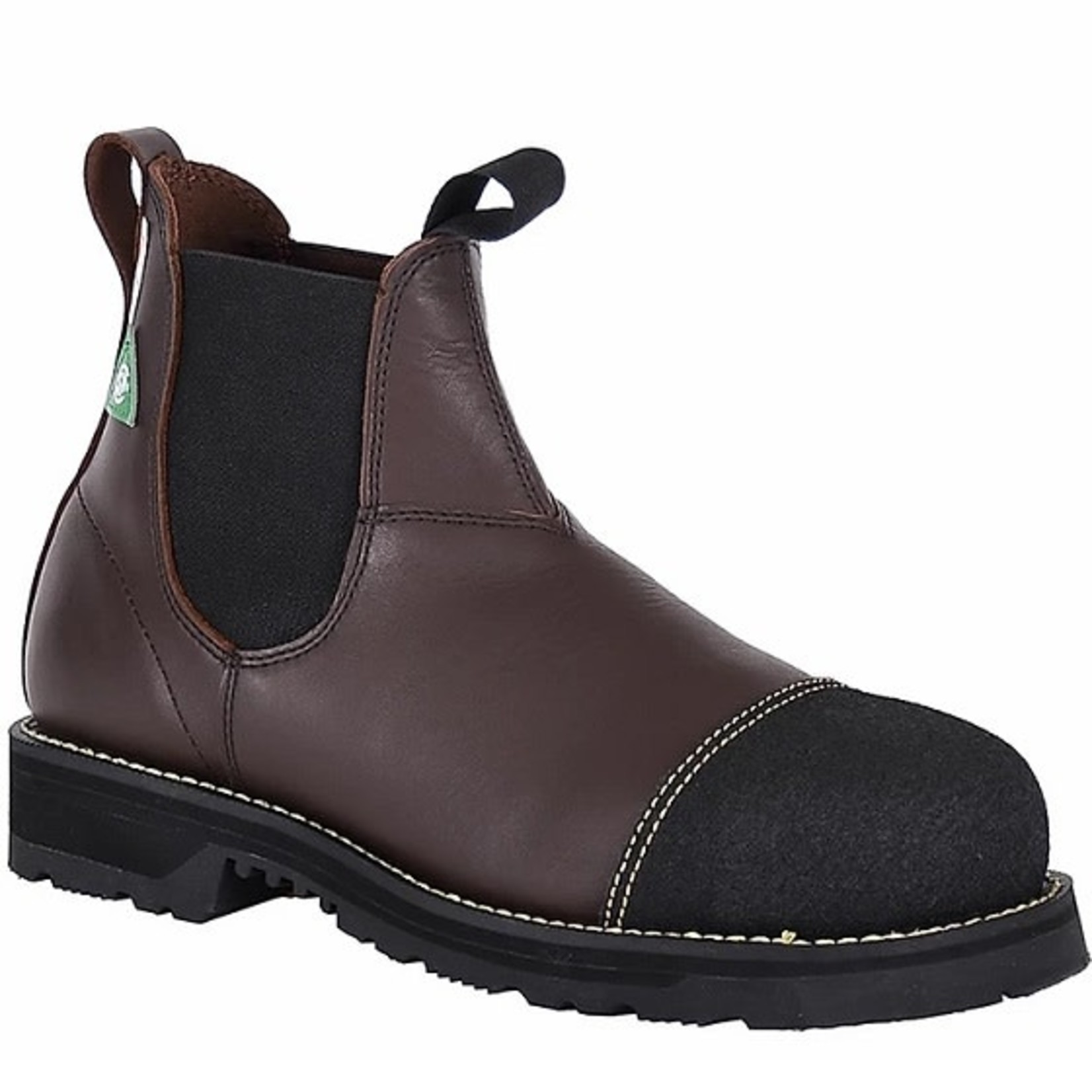 Canada West Canada West CSA Steel Toe Slip On Boot 34330 Brown