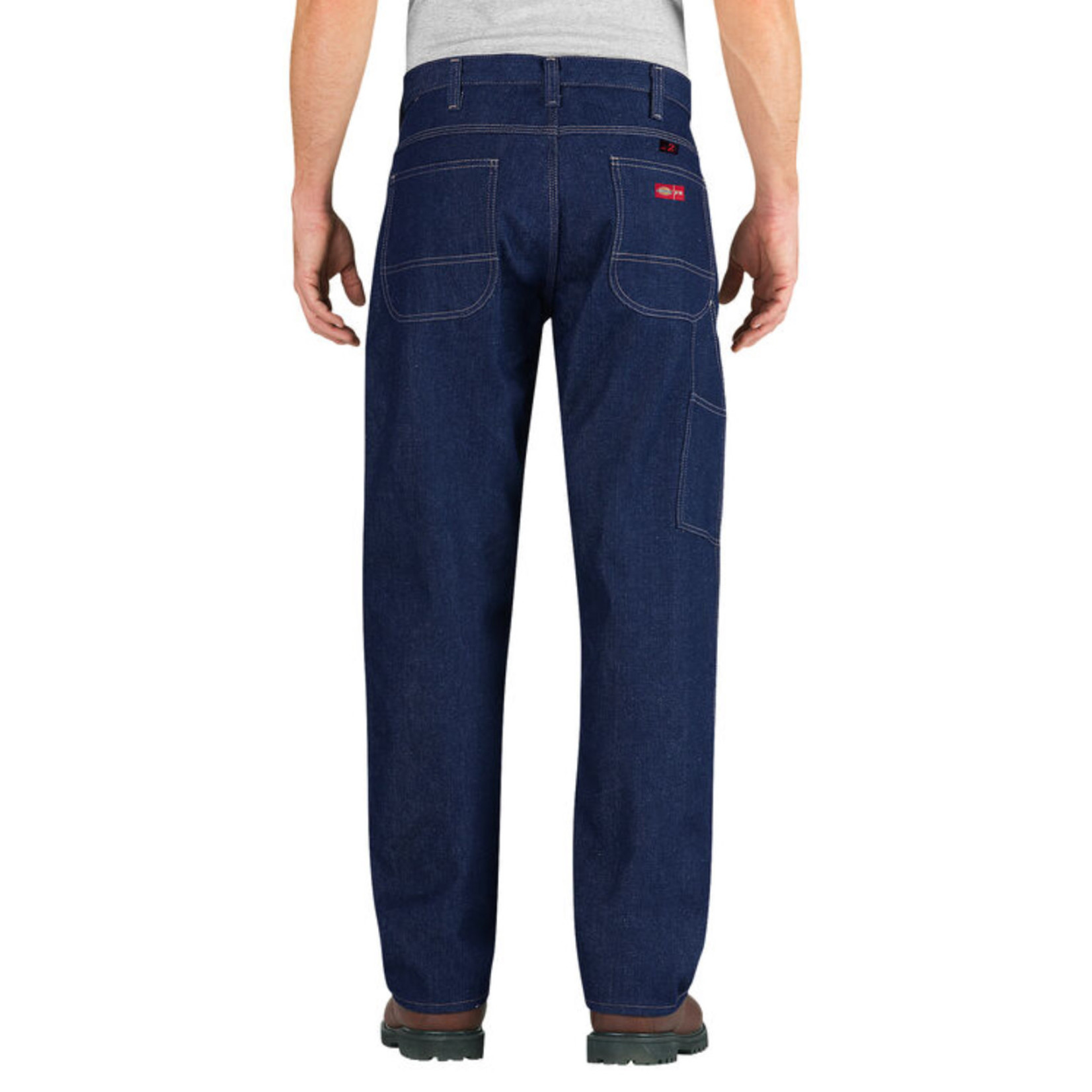 Dickies Dickies Flame-Resistant Relaxed Fit Straight Leg Carpenter Jeans