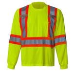 Viking Viking 6010G-L Safety Long Sleeve Shirt Yellow