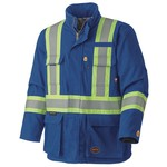 Pioneer 5523 Pioneer Flame Resistant Quilted Cotton Safety Parka