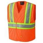 Pioneer Pioneer 6914A V2510850 Flame Resistant Hi-Viz Vest – Orange