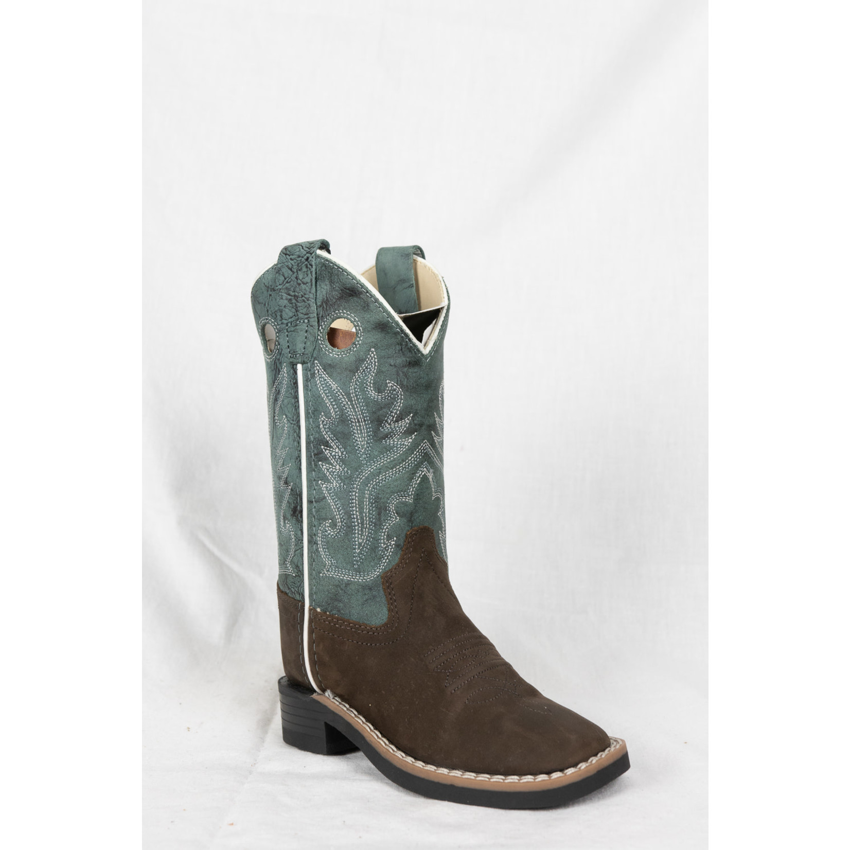 Old west Old West Brown Blue Cowboy Boot BSC 1884