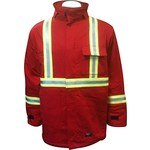 Walls FR Walls FR Insulated Red Striped Parka CFR35054 RD2