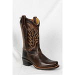 Old west Old West Brown Square Toe cowboy Boot 18002 Size 5.5