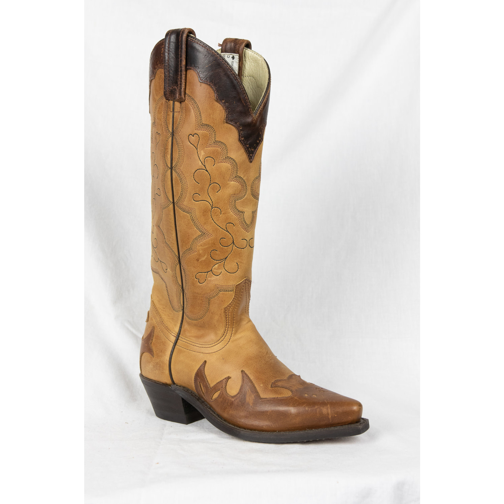 Canada West Canada West Two Tone Brown Snip Toe 3029