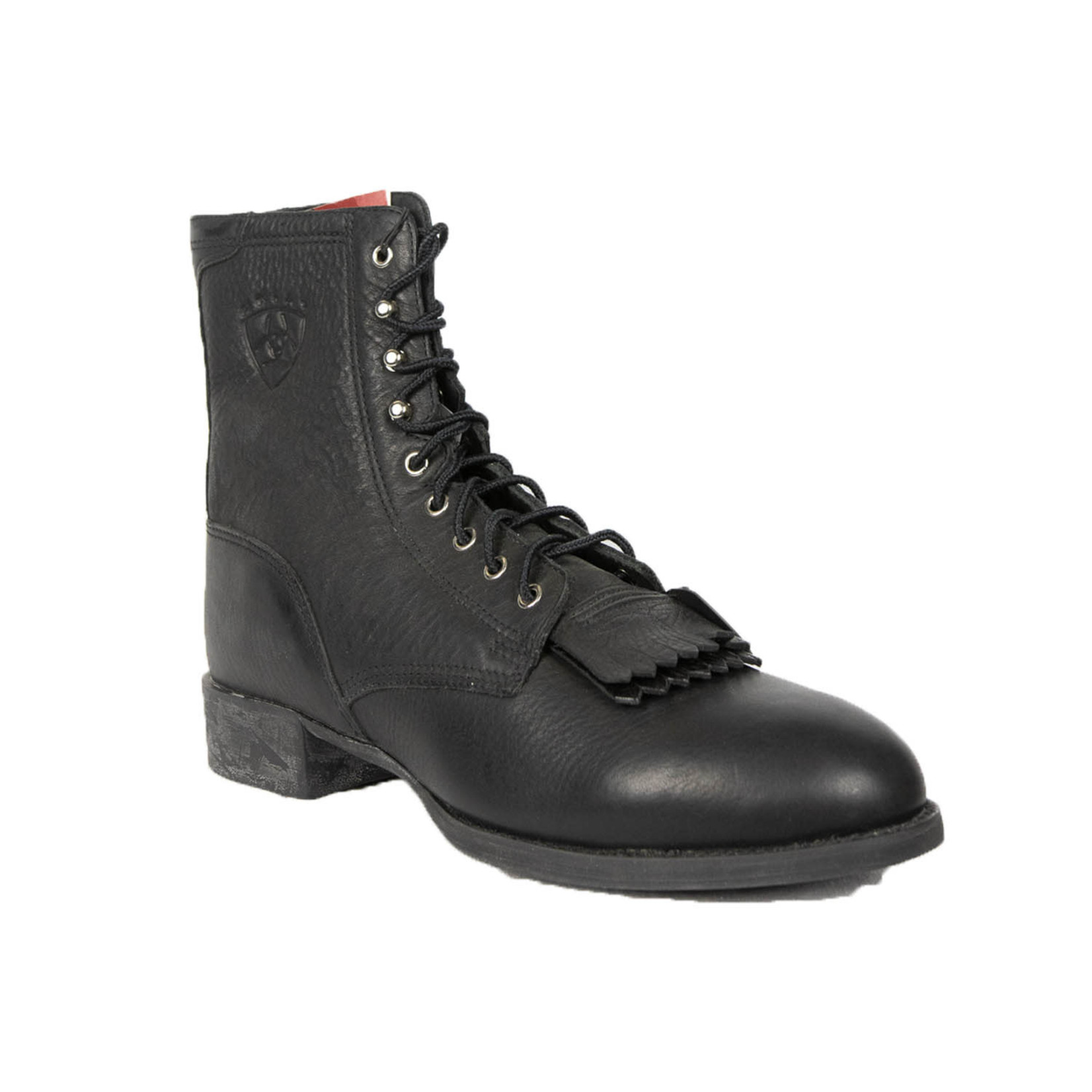 Canada West Canada West Black Lace Up Western Boot 3006