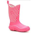 Muck Muck Kids/Youth Hale Pink Rubber Boot KBH-4DOT