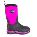 Muck Muck Kids Rugged II RG2-400 Pink and Black -40 Waterproof Winter Boot