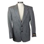 Dallas 70% Wool 30% Viscose Vintage Suit Jacket - Size 38 - #7