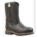 "Boulet Boulet 4384 3E Everest Black CSA Steel Toe Canadian Made 10"" Boots"